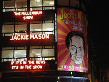 Yes, that is Jackie Mason.