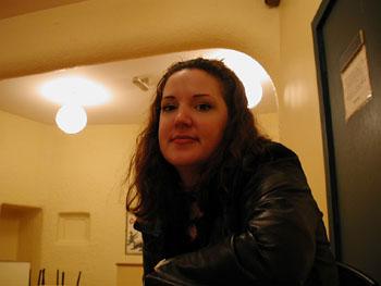 Jillian at the Ashfield House.