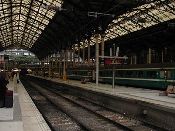 Liverpool Street Station.