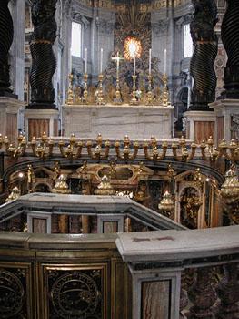 Inside San Pietro.