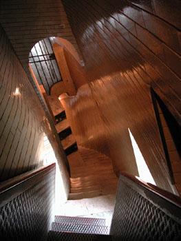 Wacky stairs.