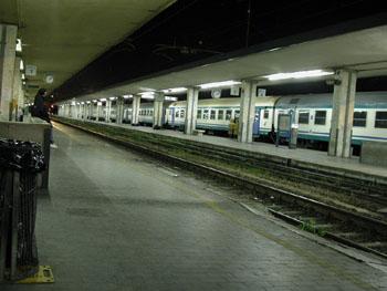 Pisa's lovely station?